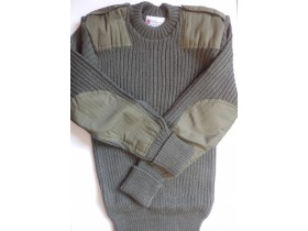 "Originalni WOOLLY PULLY ""military"" dzemper"