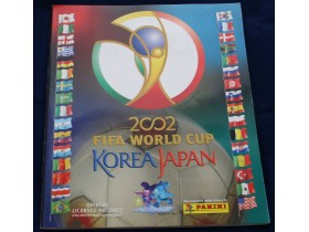 PANINI album KOREA JAPAN 2002