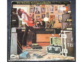 PAT TRAVERS - Putting It Straight LP / iron maiden