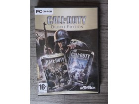 PC igrice Call of Duty DeLuxe Edition
