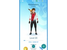 POKEMON GO 20 NIVO