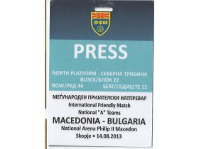 PRESS-MACEDONIA-BULGARIA 2013