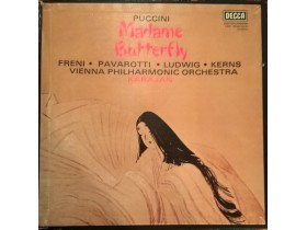 PUCCINI - MADAME BUTTERFLY - 3 PLOCE BOX SET