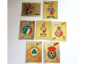 Panini Euro 88 International - Grbovi i Maskote