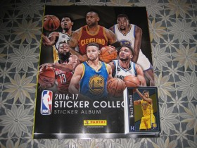 Panini NBA 2016/17-album i 100 razlicitih slicica