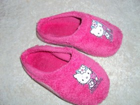Papuce hello kitty