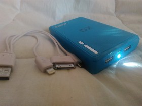 Power Bank 12000mAh - Novo !!!