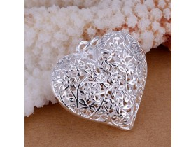 Privezak srce ,sterling silver