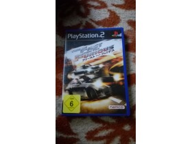 Ps2 igra-The Fast and the Furious