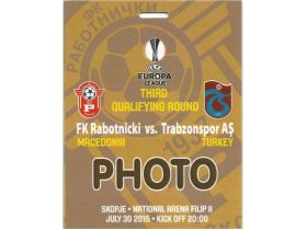 RABOTNICKI-TRABSONSPOR PHOTO 2015