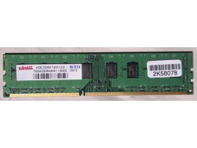 RAM memorija takeMS DDR3 4GB 1333 CL9