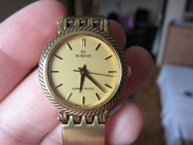 RB RUBENIS GOLD WATCH