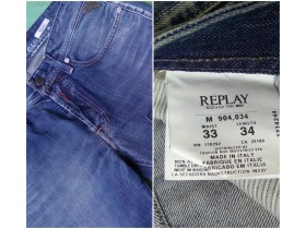 REPLAY ORIGINAL muske farmerke kao nove 33/34