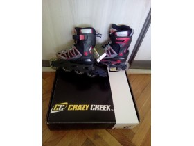 ROLERI CRAZY CREEK Nekorisceni VEL. 29-32
