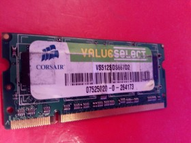 Ram memorija Corsair 512 MB DDR2 667 za laptop
