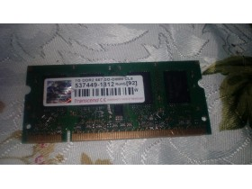 Ram memorija za laptop 1GB ddr2 667mhz