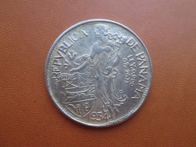 Republica De Panama,1934,38mm,18 grama,...