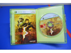 Resident Evil Xbox360 Gold Edition