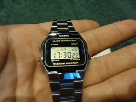 Retro Casio sat A163W