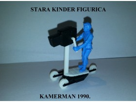 Retro Kinder figurica - Kamerman 1990.