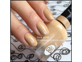 SALLY HANSEN GEL 130 HOW  NUDE