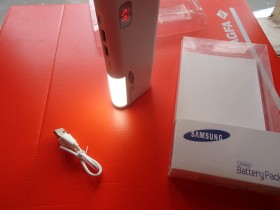 SAMSUNG POWER BANK 30000mAh+led lampa NOVO 2017