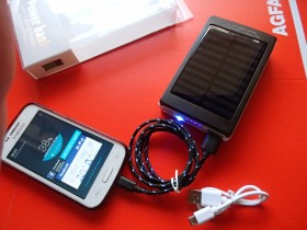 SAMSUNG  SOLARNI POWER BANK +LED LAMPA+UV LAMPA