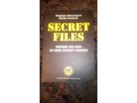 SECRET FILES, B. Milosavljevic i Dj. Pavicevic