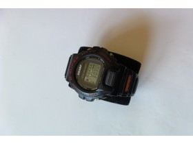 SHARP G-SUPER Alarm Chronograph  Digial Lcd Water 100