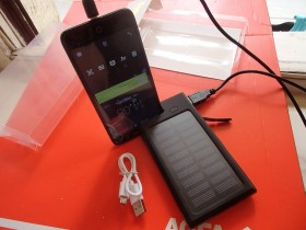 SOLARNA POWER BANK BATERIJA-PUNJAC+LED LAMPA BR2