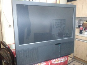 SONY PROJECTION TV MODEL KL-37W1