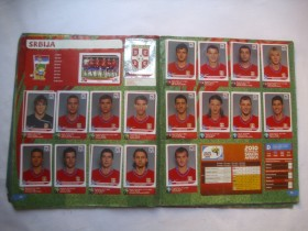 SOUTH AFRICA 2010. PANINI ALBUM PUN