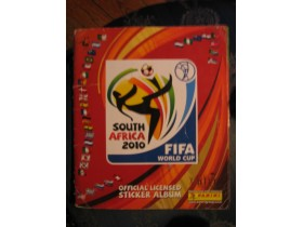 SOUTH AFRICA 2010 -Panini -99% popunjen ALBUM
