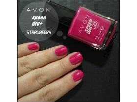 SPEED DRY LAK ZA NOKTE STRAWBERRY AVON
