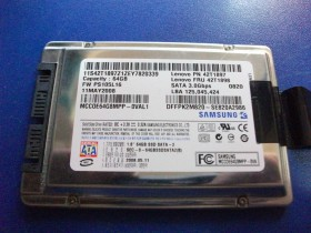 "SSD HDD 1.8"" 64GB Samsung"