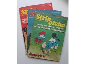 STRIPOTEKA Jugoslovenska strip revija-3 broja
