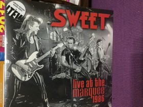 SWEET - live at the Marquee club 1986 novo 2 lp Raritet