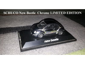 Schuco VW New Beetle Chrome - LIMITED EDITION