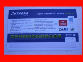 Set Top Box STRONG PRIMA VI banner