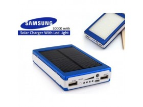 Solarna Led Samsung Power Bank PLAVA 30000mAh Novo !!!
