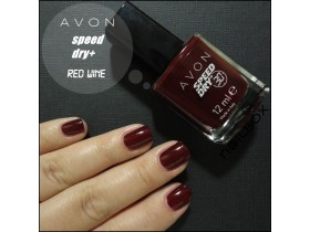 Speed Dry+ lak za nokte RED WINE - AVON