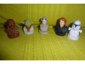 Star Wars Lukasfilm Ltd. Figurice 5 Odlicnih !!!