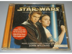 Star Wars episode II Attack of the clones soundtrack cd