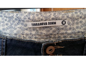 TERRANOVA denim M vel. baggy farmerke