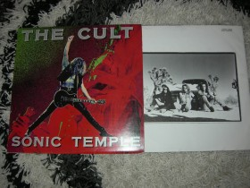 THE CULT SONIC TEMPLE LP NM/NM