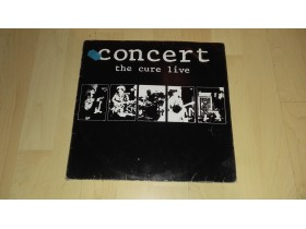 THE CURE - LIVE CONCERT ORIGINAL 1984