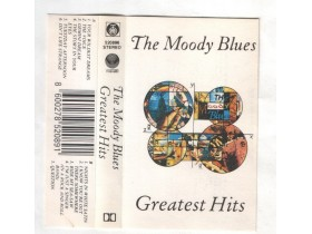 THE MOODY BLUES - kaseta