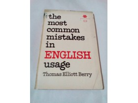 THE MOST COMMON MISTAKES IN ENGLISH USAGE - THOMAS E.B
