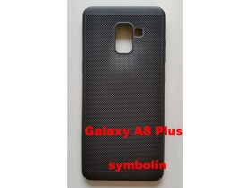 TPU maska BREATH za SM-A730F GALAXY A8 PLUS 2018 black