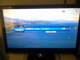 "TV  Sharp  46""  led"
